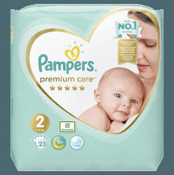 Подгузники Pampers Premium Care Размер 2 4-8 кг 23 шт