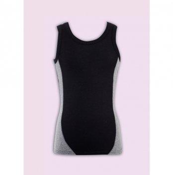 Комплект белья для мальчика Flavien майка+боксеры, черно-серый