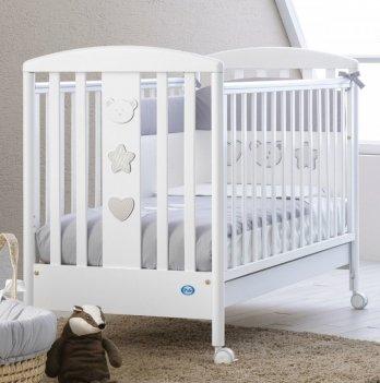 Кроватка Pali Birillo белая