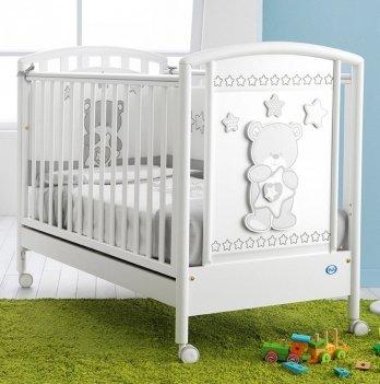 Кроватка Pali Birba белая