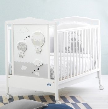 Кроватка Pali Bonnie белая