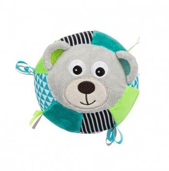 Игрушка-мячик с колокольчиком Canpol babies BEARS Серый 68/074