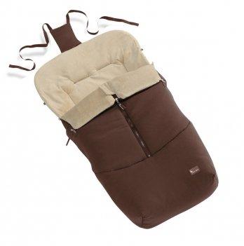 Конверт теплый Interbaby Chocolate, коричневый