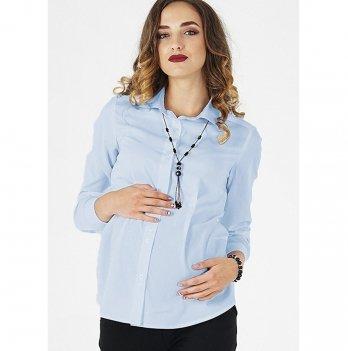 Блуза для беременных и кормящих To Be Голубой 1308225