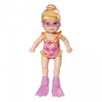 Кукла интерактивная MY LITTLE BABY BORN Zapf Creation, УЧИМСЯ ПЛАВАТЬ (32 см, с аксессуарами, плавает в воде)