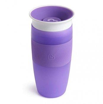 Чашка-непроливайка Miracle 360 Sippy Munchkin фиолетовый 414 мл.