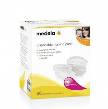 Одноразовые прокладки для бюстгальтера Medela Disposable Nursing Pads, 60 шт.