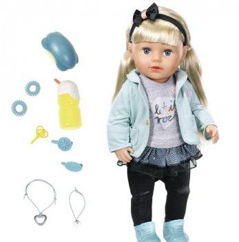 Кукла BABY BORN Zapf Creation Сестрёнка Модница (43 см, с аксессуарами)