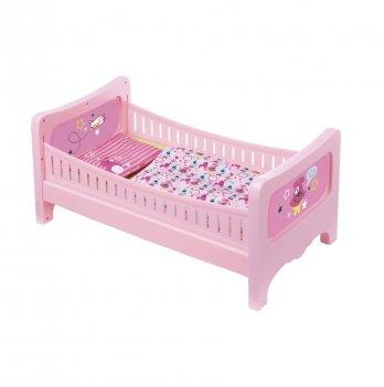 Кроватка для куклы Baby Born Zapf Creation, Сладкие сны (с постельным набором)