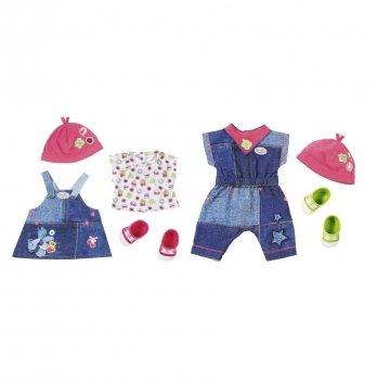 Набор одежды для куклы Baby Born Zapf Creation, Модный джинс