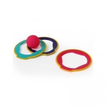 Спортивная игрушка Quut, Петанк по новому RINGO, 3 кольца + мячик