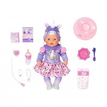Кукла Baby Born Zapf Creation Нежные объятия Милый Единорог