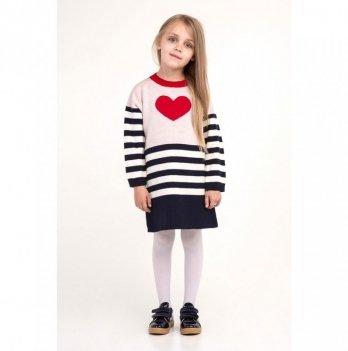 Платье ТМ Lutik красное сердце