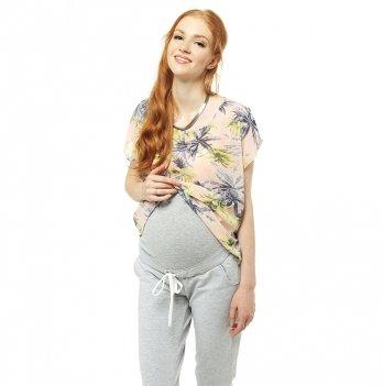 Брюки-джоггеры для беременных Love & Carry LCM1101 меланж