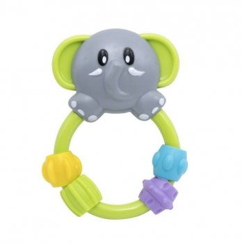 Погремушка Baby Team Любимые зверушки 8403 слоник