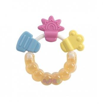 Погремушка-прорезователь Baby Team 8410 Цветочек