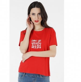 Футболка для беременных To Be Красный 3085041-54