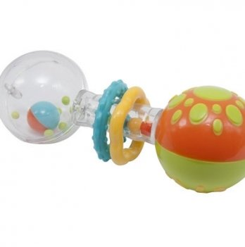 Игрушка-погремушка Baby Team Гантелька 8443