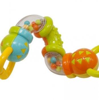 Игрушка-погремушка Baby Team 8444 Зигзаг