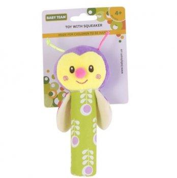 Игрушка с пищалкой Baby Team 8500 Пчелка
