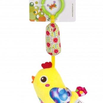 Мягкая игрушка-колокольчик Baby Team 8520 Ципленок