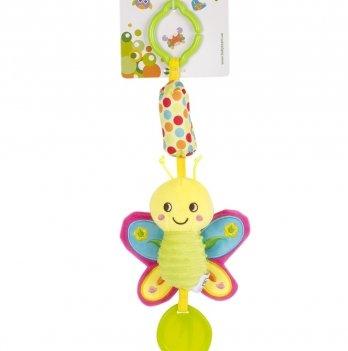Мягкая игрушка-колокольчик Baby Team 8520 Бабочка