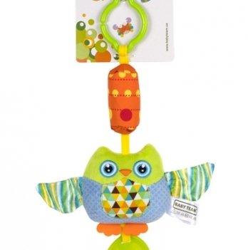 Мягкая игрушка-колокольчик Baby Team 8520 Сова