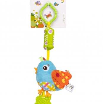 Мягкая игрушка-колокольчик Baby Team 8520 Птичка
