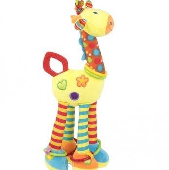 Мягкая игрушка-подвеска на кроватку Baby Team 8531 Жираф
