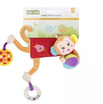Мягкая игрушка на кроватку/коляску Baby Team 8532 Обезьянка