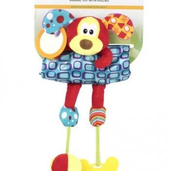 Мягкая игрушка на кроватку/коляску Baby Team 8532 Собачка