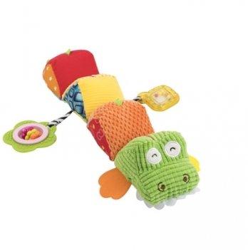 Мягкая игрушка-гусеница Baby Team 8534 Крокодил