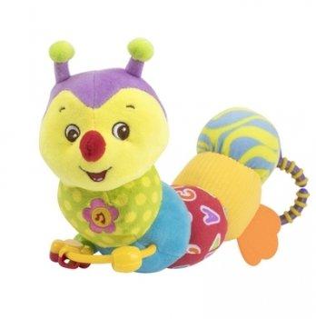 Мягкая игрушка-гусеница Baby Team 8535 Гусеничка
