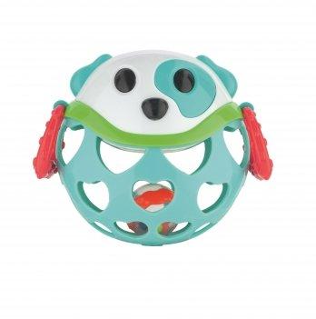 Игрушка с погремушкой интерактивная Canpol babies Собачка Бирюзовый 79/101