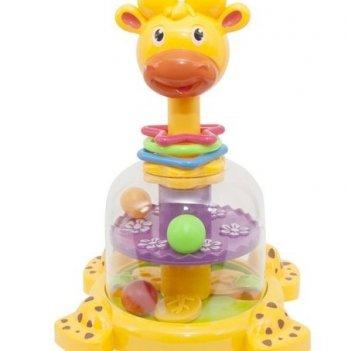Юла детская Baby Team 8626 Жираф