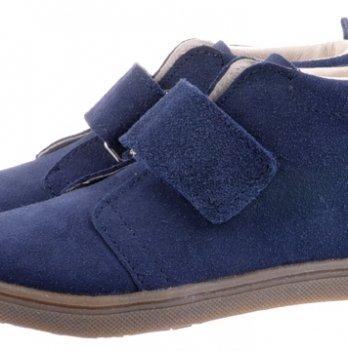 Ботинки кожаные демисезонные Mrugala синие