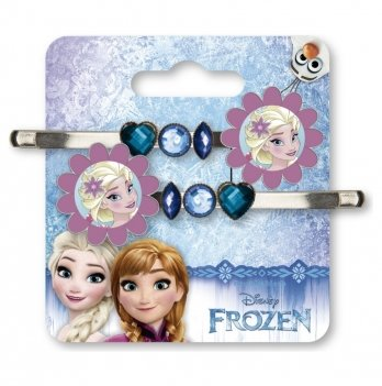 Набор заколок на волосы Arditex Disney Холодное сердце, 2шт, синий