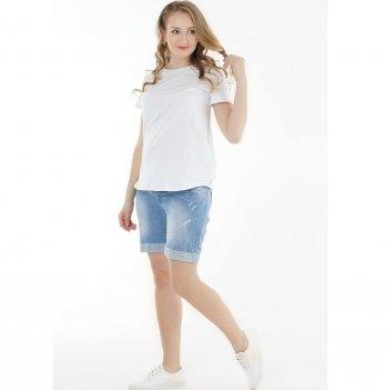 Шорты джинсовые для беременных To Be Синий 1028629-11