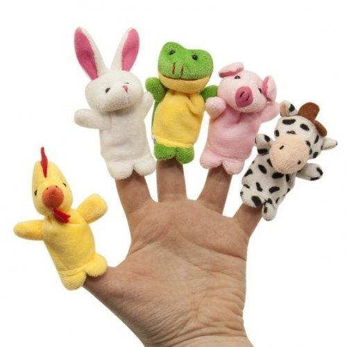 Набор игрушек на пальцы Baby Team 8710 Весёлые пушистики