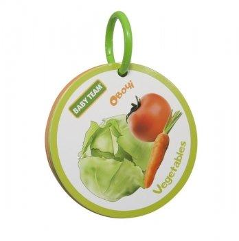 Игрушка-книжка Baby Team 8730 Фрукты-овощи