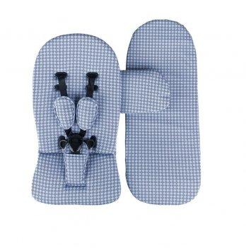 Стартовый набор для коляски Mima Xari Голубой/Серый 14162 S103RB
