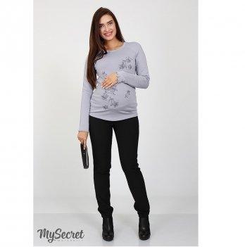 Теплые брюки для беременных MySecret Lera 01.46.061 черный