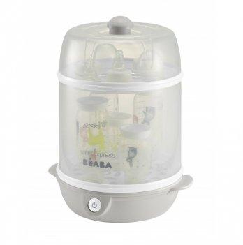 Стерилизатор электрический паровой 2 в 1 Beaba Steril'Express серый