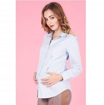Рубашка для беременных To Be Голубой горошек 1308224