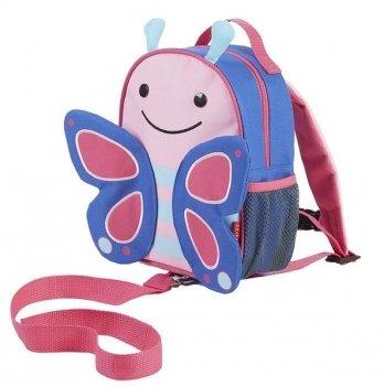 Рюкзак Skip Hop с поводком Бабочка