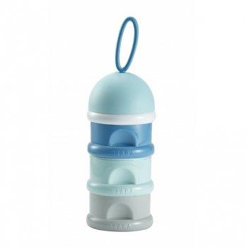 Контейнер-дозатор для сыпучих смесей Beaba синий