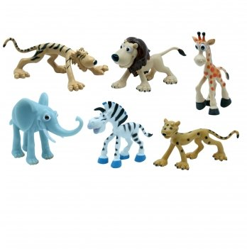 Набор игрушек-фигурок Сафари Baby Team 8830, 6 шт
