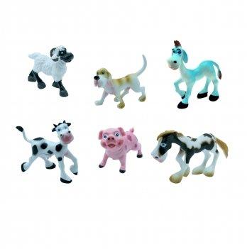 Набор игрушек-фигурок Ферма Baby Team 8831, 6 шт