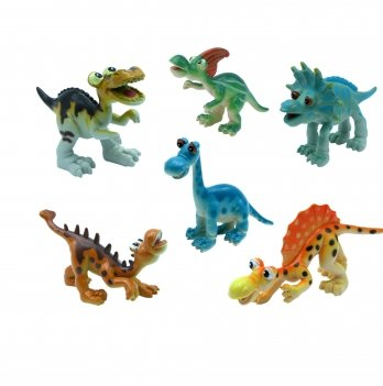 Набор игрушек-фигурок Динозавры Baby Team 8832, 6 шт