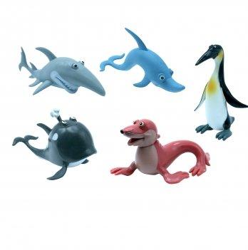 Набор игрушек-фигурок Океан Baby Team 8833, 5 шт